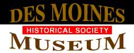 Des Moines Historical Society Museum logo